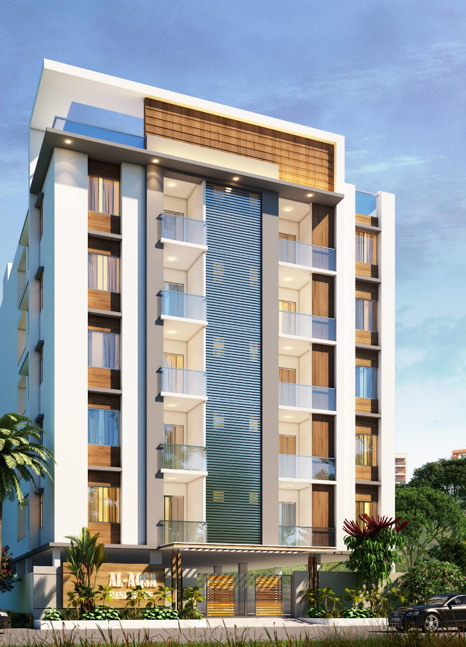 Al Aqsa Residency – G + 5 Approved Apartment